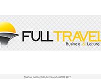 Full Travel: Rebranding, papelería y uniformes