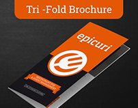 Epicuri - Brochure Design