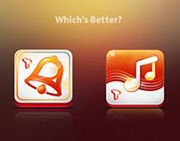 SK T-Belling app icon design