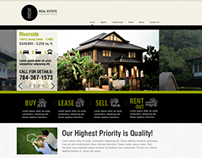 Business Catalyst Template for a Real Estate Agency