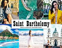 Free Saint Barthelemy Mobile & Desktop Lightroom Preset