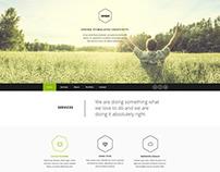 Vernum - One Page Multipurpose PSD Template