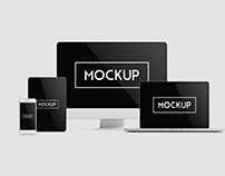 Multi Devices Responsive Website Mockups