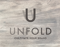 Unfold Creative Co Business Card Design