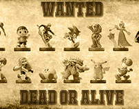 Wanted Amiibo