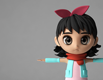 [3D Model]Girl