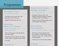 Theatre Programme Flyer