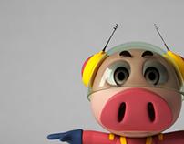 [3D Model]Pig
