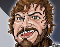 Jack Black Caricature