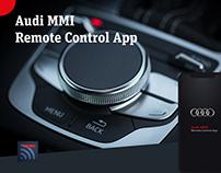 Audi MMI Remote Control App