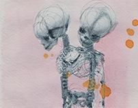 Bodysharing_ conceptual artworks by Alexandra Bolzer