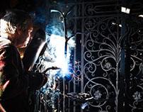 Nigel Barnett Artist Blacksmith