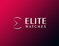 Elite Watches Logo Design