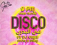 Tabla nightclub event promotion