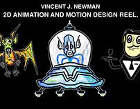 Animation & Motion Design Showreel 2018