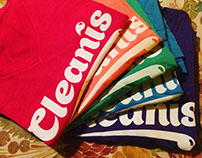 Cleanis Soap logo and apparel