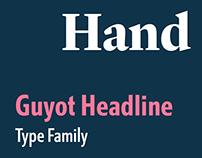 Guyot Headline type family