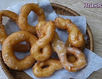 cách làm Bánh Quẩy thừng– Vietnamese Donut