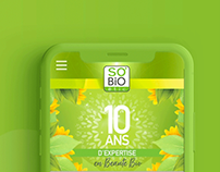 So'BIO étic / Web design