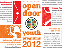 Open Door Youth Program Brochure