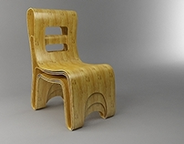 PULLI CHAIRS CONCEPT DESIGN (3DS Max)