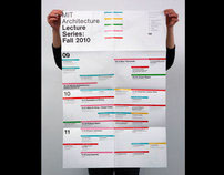 MIT Architecture Lecture Poster Fall 2010