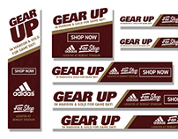 University Bookstore at Texas State Gear Up Ads - 2017