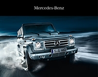 Mercedes-Benz G-Guard - Editorial Design