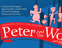 Peter and the Wolf Direct Mailer