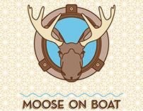 Moose on Boat