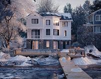 Lake house - Ocean Ave,Amityville,New York, USA