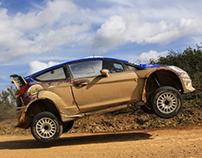 Ford M-Sport com Mads Ostberg 02-04-2013