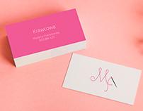 Business card for dressmaker