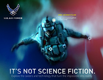"Airforce ""It's Not Sci-Fi"" Website"