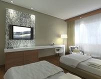 Diseño de Habitación para Hotel - 2013
