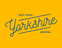 Yorkshire - Skate Tables Branding