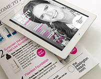 The Paddington Beauty Room Digital Newsletter & Promo