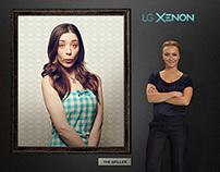 LG Xenon Microsite