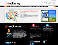 Phil McKinney Branding & Website