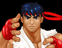 Street Fighter 3 Character Select Sprites HD