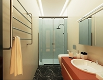 Hotel Astoria. WC - for standard and double rooms. Lviv