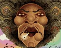 Jimi Hendrix's Portrait