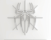Spider-Man logo, shelf, interrior, design, bookshelf