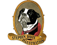 Stephen Davis Illustration Business Cards