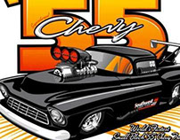 55 Chevy Drag Truck