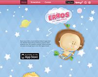 Landing Page - Jogo dos Erros