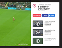 Scorebat Livescore Video Player