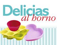 DELICIAS AL HORNO/WEB DESIGN