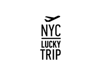 """NYC Lucky Trip"" logotype"