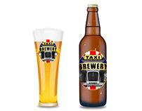 2014 Logo Design Taxi Brewery